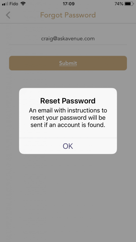 I Forgot My Password - How Can I Reset It?